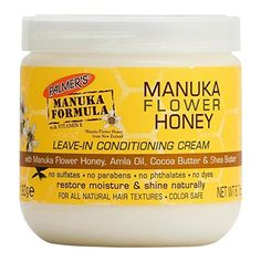 Palmer's Manuka Flower Honey Leave-In Conditioning Cream nourishes and defines, repairs dry, damaged hair and adds shine. Natural Hair Care Tips, Curly Hair Tips, Natural Hair Styles, Amla Oil, Texturizer On Natural Hair, Relaxed Hair, Hair Shampoo, Protective Hairstyles, Hair Oil