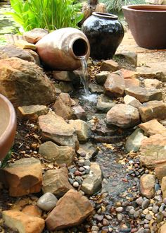 Disappearing Water Features | Hill Country Water Gardens