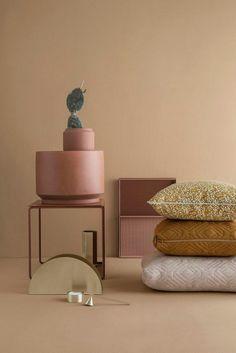 Set of 3 Cluster Tables in Multi design by Ferm Living Decoration Inspiration, Color Inspiration, Interior Inspiration, Deco Design, Design Trends, Color Trends, Design Design, Design Ideas, Living Colors