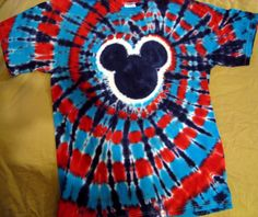The Mouse, My Measurements and Marriage: Fit to be Tie-Dyed, part 1