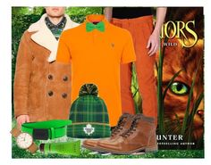 """""""Firestar - Warriors Cats"""" by crazyhat15 ❤ liked on Polyvore featuring Dsquared2, Paolo Pecora, Paul Smith, ALDO, Reebok, Kale Naturals, Timex, men's fashion e menswear"""