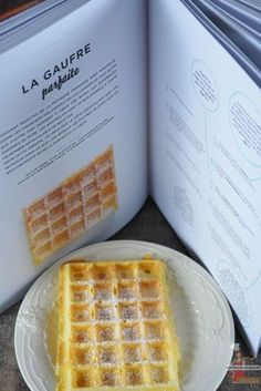 La gaufre parfaite - The Best Breakfast and Brunch Spots in the Twin Cities - Mpls. Flan Dessert, Dessert Dips, Desserts With Biscuits, Cream Cheese Desserts, Crepes, Breakfast Recipes, Snack Recipes, Cooking Recipes, Biscuit Cake