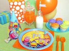 Pajaminals 1st Birthday party supplies! #kidsparties #1stbirthday #birthdayexpress  www.birthdayexpre...