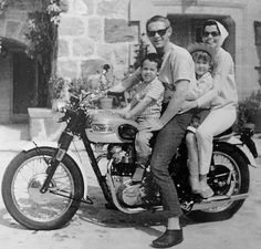Steve McQueen with his Family | Personal Life