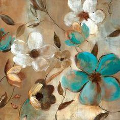 Garden Glow I Wall Art, Canvas Prints, Framed Prints, Wall Peels Floral Wall Art, Floral Rug, Arte Floral, Canvas Art Prints, Canvas Wall Art, Fine Art Prints, Framed Prints, Big Canvas, Framed Art