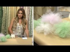How to Make Party Garlands & Poufs by Lauren Conrad