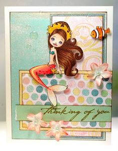 Coral Reefweaver mermaid by Amy Y - Cards and Paper Crafts at Splitcoaststampers
