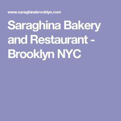 Saraghina Bakery and Restaurant - Brooklyn NYC