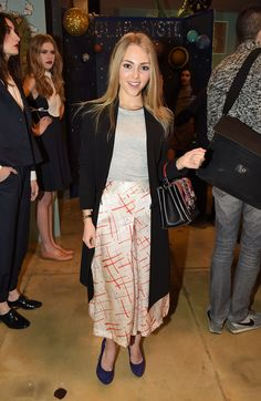 Annasophia Robb attends the Rachel Antonoff presentation during the Mercedes-Benz Fashion Week Fall 2015 on February 2015 in New York City Rachel Antonoff, Annasophia Robb, The Carrie Diaries, Fashion Shows 2015, Celebrity Style Inspiration, Bright Stars, Red Carpet Dresses, Celebs, Celebrities