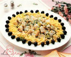 Salată de merluciu şi măsline