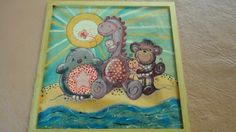 cuadrito. pintura sobre tela
