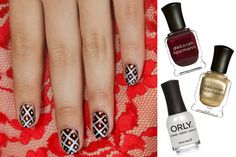 The holiday nails tutorial that's Faberge-egg perfect for parties.