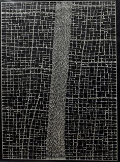 Dorothy Napangardi Aboriginal art never fails to please in modern environs - mystical, strong, graphics..