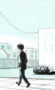 Daniel Clowes – Ghost World. Illustration Sketches, Graphic Illustration, Animation Career, Daniel Clowes, Ghost World, Riot Grrrl, Classic Comics, Comic Styles, Comic Art