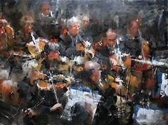 Symphony Seven by Mark Lague Oil ~ 48 x 36