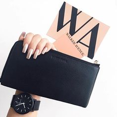 #LOVE this photo of #Parkway in her new home with @jessjms_ Parkway in black is nearly sold out! I will be ordering more but might take a month or 2, don't miss out! www.walkeravenue.com.au ・・・ #PARKWAY / loving this wallet I received from Walker Avenue -