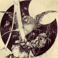 Jules-Auguste Habert-Dys decorative alphabet - Google Search