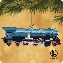 2002 Lionel #7 - Blue Comet Ornament