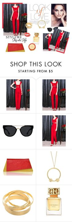 """StyleWe Sleeveless Cutout Jumpsuit!"" by marialibra on Polyvore featuring Vince, Quay, J.W. Anderson, Tory Burch and Kate Spade"