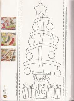 A Christmas Story - Sabrina Cárcamo - Picasa Web Albums Christmas Sewing, Christmas Embroidery, Primitive Christmas, A Christmas Story, Christmas Colors, Primitive Snowmen, Primitive Crafts, Country Christmas, Wool Applique