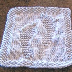 knit children washcloth free pattern | PATTERNS FOR BABY WASHCLOTHS « Free Patterns