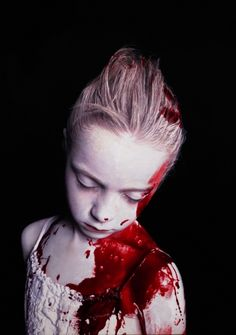 Gottfried Helnwein: The Disasters of War 13, 2007 mixed media (oil and acrylic on canvas) http://www.helnwein.com/