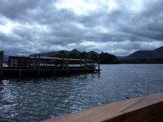 Taking the boat tour of Derwent Water, Lake District, UK