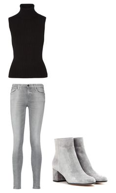 """""""Untitled #279"""" by joneishaz on Polyvore featuring 7 For All Mankind, Michael Kors and Gianvito Rossi"""