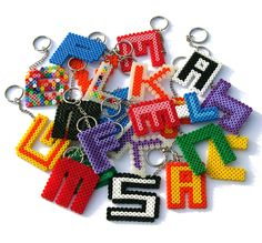 Keychains (Sleutelhangers), made by Romy (11) | Flickr: Intercambio de fotos