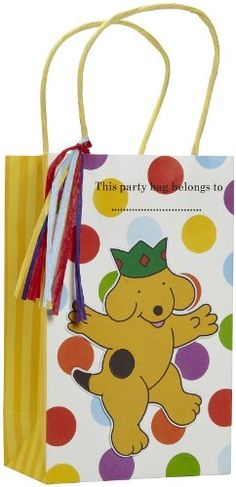 Amazon.com: Spot Party Bags (8): Toys & Games Party Bags, Reusable Tote Bags, Amazon, Games, Toys, Holiday, Activity Toys, Amazons, Vacations