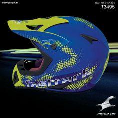 The streets will never be the same. #GetHard www.fastrack.in/helmets   #Fastrack #Helmet #MotoCross