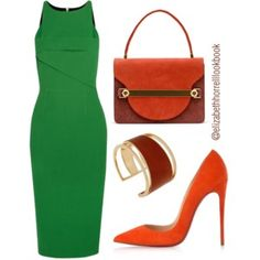 What a statement green! I absolutely love the lines and simplicity. Very classy.