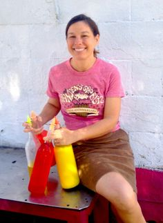 Ashley Hansen, owner of Hansen's Sno-Bliz! #NOLA