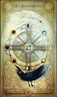 La roue de l fortune dans le tarot