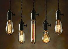 Kennt ihr die Glühbirnen von PureLume? Zumindest diejenigen von euch, die auf Retromöbel und Steampunk stehen, sollten sich die mal angucken! Die machen lauter Glühbirnen, die auf den ersten Blick total alt aussehen. Und dann auch noch in unglaublich viele