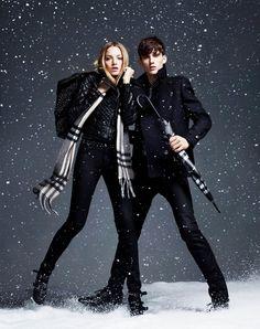 Burberry - 2010FW - ad  campaign winter storms collection -  fashion ads