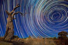 Fantásticas fotografías de estrellas en larga exposición