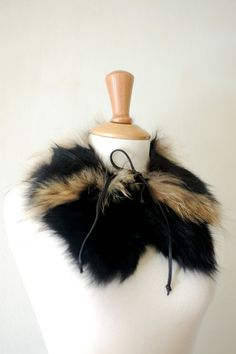 Stylish Christmas Gift for Her 90's Genuine Fur by flyingcloset