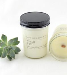 Apple Peel Scented Soy Candle