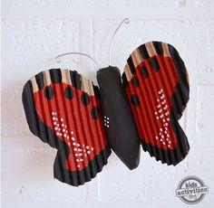 Paper Mache Crafts For Kids: Butterfly – Flutter! Flutter!