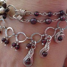 I have to work on this style once I get some wire #wirejewelry