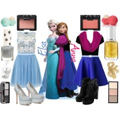 """Do You Want To Build A Snowman?"" Frozen Elsa Anna Disneybound"