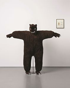 The Bear Suit Lady, 2004 by Marcel Dzama