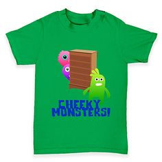 Cheeky Monsters B...  http://twistedenvy.com/products/cheeky-monsters-baby-toddler-t-shirt?utm_campaign=social_autopilot&utm_source=pin&utm_medium=pin   All artwork on Twisted Envy is created by artists from around the world.     #Twistedenvy