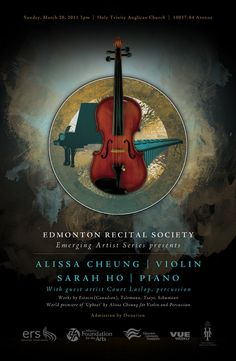 This is a poster done for a classical music concert. The violin and piano are featured instruments for the concert. The poster blends the two instruments seamlessly, just as the notes in the music interplay. Jazz Concert, Rock Concert, Concert Posters, Music Posters, Posters Diy, Vintage Posters, Arte Do Piano, Classical Music Concerts, Infinity Wallpaper