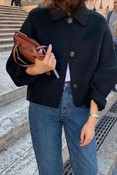 December outfits falda maxi skirt botas calcetn boots negro black animal print leopardo minibag bolso pequeo look street style ootd outfit Mode Outfits, Jean Outfits, Winter Outfits, Fashion Outfits, Autumn Jeans Outfits, Dress Winter, Fashion Tips, Fashion Ideas, Fashion Moda