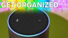 With a smart assistant in your home, there& no reason to be disorganized. Amazon Echo Tips, Amazon Hacks, Alexa Dot, Alexa Echo, Echo Echo, Alexa Tricks, Amazon Dot, Alexa Skills, Sassy