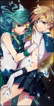 Sailor Neptune & Uranus <3