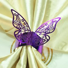 Free Shipping 12pcs/Pack,Lot of 5packs Purple Color Paper Napkin Rings For Wedding Party decoration Wedding Favors-in Event & Party Supplies from Home & Garden on Aliexpress.com   Alibaba Group