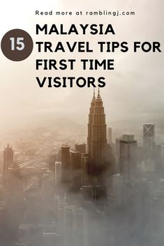Malaysia is one of the most visited countries in the world. And it's no wonder with all its natural beauty, colonial towns, beaches and street food are always going to be a major pull for any tourist. Here is a few Malaysia travel tips.   travel Malaysia tips
